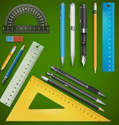 School drawing vector