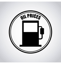 Oil inductry economy icons vector