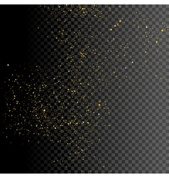 Sparkle greeting card background design Glitter vector image