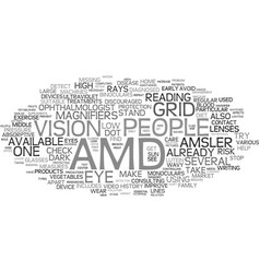 For those people who already have amd text vector