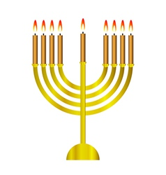 Chanukah icon vector