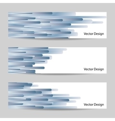 Website header or banner set vector