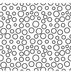 Abstract rings pattern vector image vector image