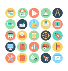 Finance flat icons 2 vector