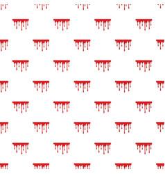 Flowing blood pattern vector