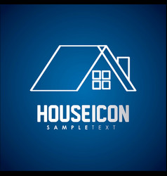 house icon design vector image