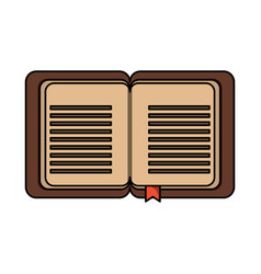 old book icon image vector image