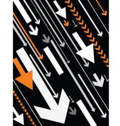 orange grayed vector image vector image