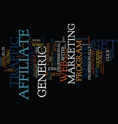 The best way to increase your web traffic text vector