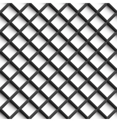 Grid pattern - seamless background vector