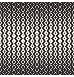 Hand drawn horizontal wavy zigzag lines vector
