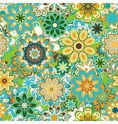 art vintage stylization floral pattern vector image vector image