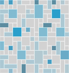 modern square tile wall vector image