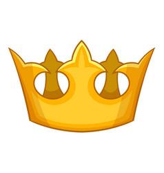 Viscount crown icon cartoon style vector