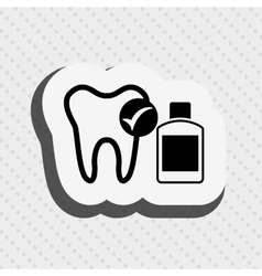 Dental health care design vector