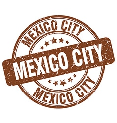 Mexico city stamp vector