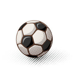 ball icon absteact vector image vector image