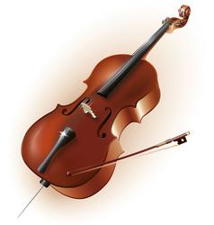 Classical cello vector