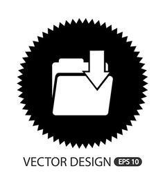 computer icon design vector image vector image