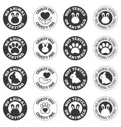 No animal testing vector