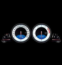 speedometer3 vector image