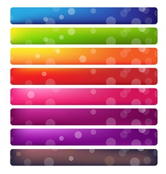 Web Site Banner Set vector image