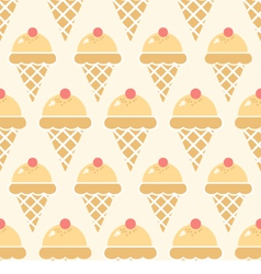 Icecream pattern2 vector