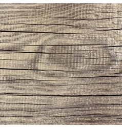 Dark wood board background vector image