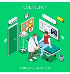 Hospital 05 people isometric vector
