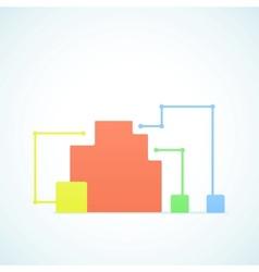conceptual scheme vector image