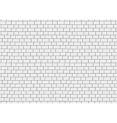 Realistic brick wall 3d seamless background vector image vector image