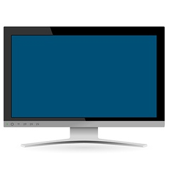 LCD Television vector image