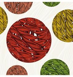 Vintage floral background Element for design vector image