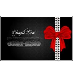 abstract greeting card vector image