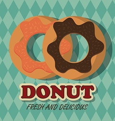 Donut design vector