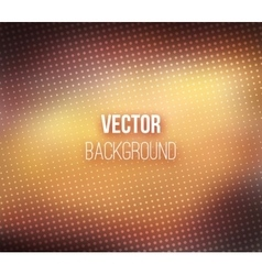 Brown Blurred Background With Halftone Effect vector image vector image