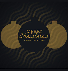 Elegant seasonal merry christmas background with vector