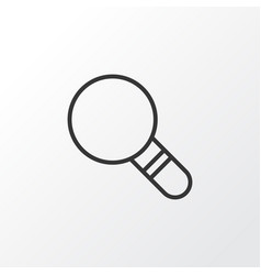 Magnifier icon symbol premium quality isolated vector