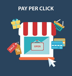 Pay per click vector