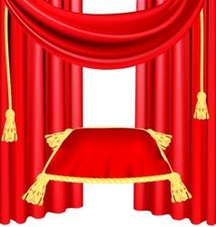 ceremonial pillow vector image