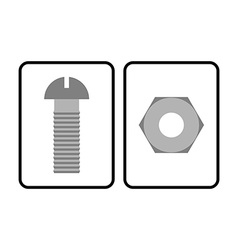 Man and woman restroom sign toilet sign bolt and vector