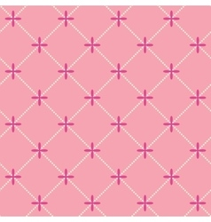 Romantic seamless pattern background vector