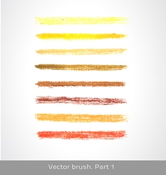 Pastel brush vector