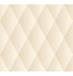 Beige Rhombus Seamless Pattern vector image vector image