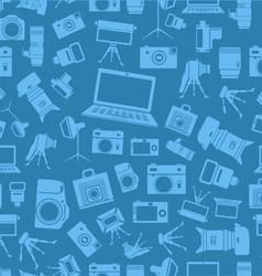 cameras vector image