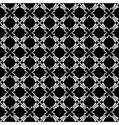 seamless crisscross pattern vector image