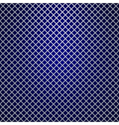 Silver grille on blue background vector