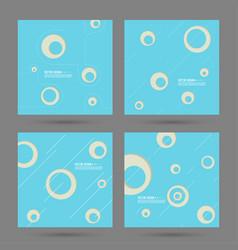 Modern background pattern design vector