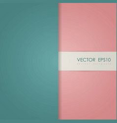 Abstract simple cover page vector