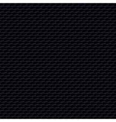 Black dark textured linear pattern vector image